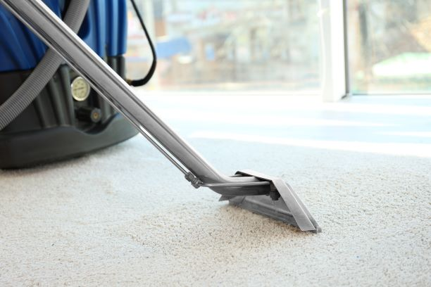 Commercial steam carpet cleaning